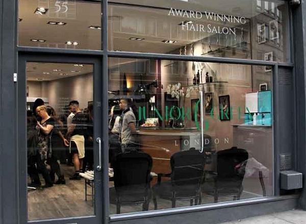 Junior Green Hair London-Kensington
